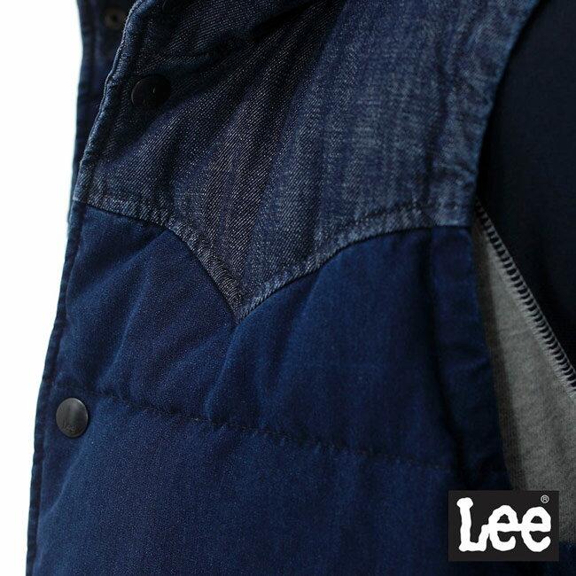 Lee 連帽羽絨背心 / RG-深藍色-男款 5