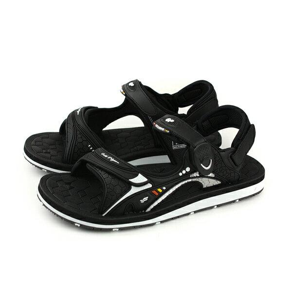 GP(Gold.Pigon)阿亮代言涼鞋防水雨天黑色男鞋G8667M-10no847