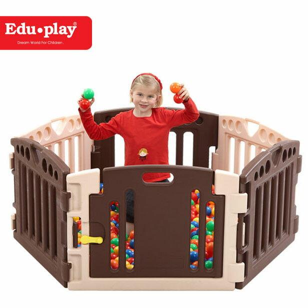 *babygo* Edu-Play 遊戲圍欄(6PCS) EDU3618