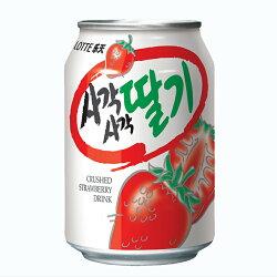 【Lotte 樂天】草莓風味汁(238ml)