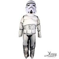 尾牙變裝推薦到X射線【W370053】星際大戰白武士(小孩),萬聖節服裝/化妝舞會/派對道具/尾牙變裝/cosplay就在X射線 精緻禮品推薦尾牙變裝