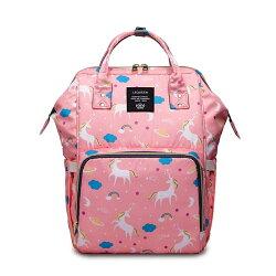LEQUEEN媽咪包大容量母嬰包雙肩媽媽包多功能孕產婦外出旅行背包WD    電購3C