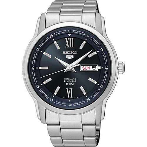 Seiko精工錶7S26-04T0D(SNKP17J1)羅馬數字機械腕錶黑42.3mm