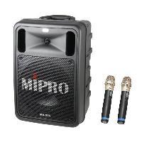 MIPRO MA-505 精華型手提式無線擴音機 攜帶式喊話器/教學機MA505 附2支無線麥克風ACT-32H 適用 集會.教學.上課.教會.幼稚園