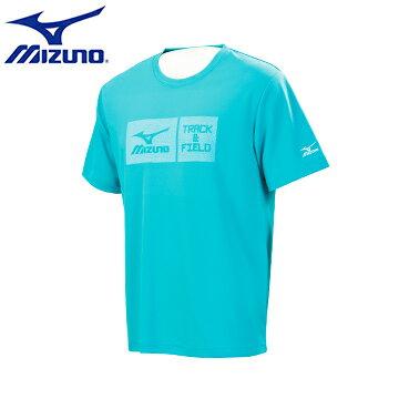 32TA653119(天藍)TRACK&FIELD 男短袖T恤 【美津濃MIZUNO】