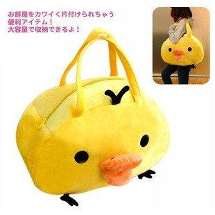 =優生活=San-x rilakkuma拉拉熊 懶懶熊 豬鼻黃色小雞大包 手拎包 手提包 側背包 媽媽包 超大包包