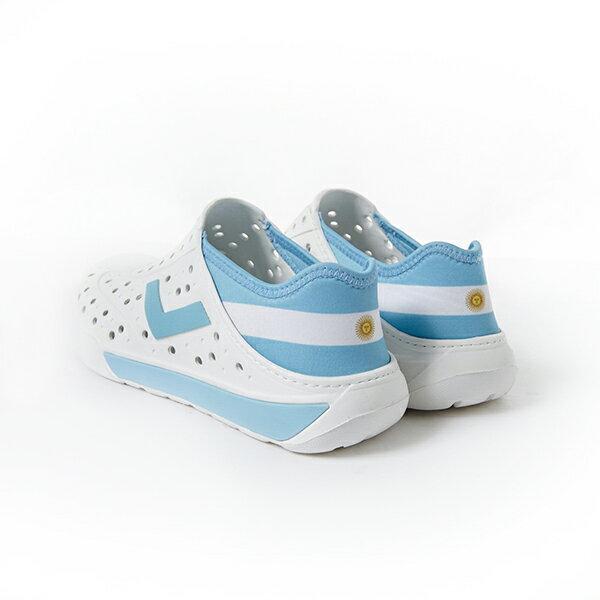 《2018新款》Shoestw【82U1SA7-】PONY Enjoy 洞洞鞋 水鞋 可踩跟 懶人拖 世足賽六國配色 男女都有【日本82U1SA71OW】【俄羅斯82U1SA72OW】【阿根廷82U1SA73OW】【英格蘭82U1SA74OW】【巴西82U1SA75OW】【德國82U1SA76BK】 3