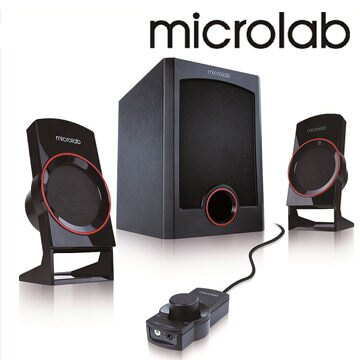 [天天3C] Microlab M-111 M111 111 2.1時尚美聲多媒體喇叭