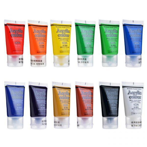 萬事捷 MONA 壓克力顏料25ml 瓶裝 壓克力水彩顏料