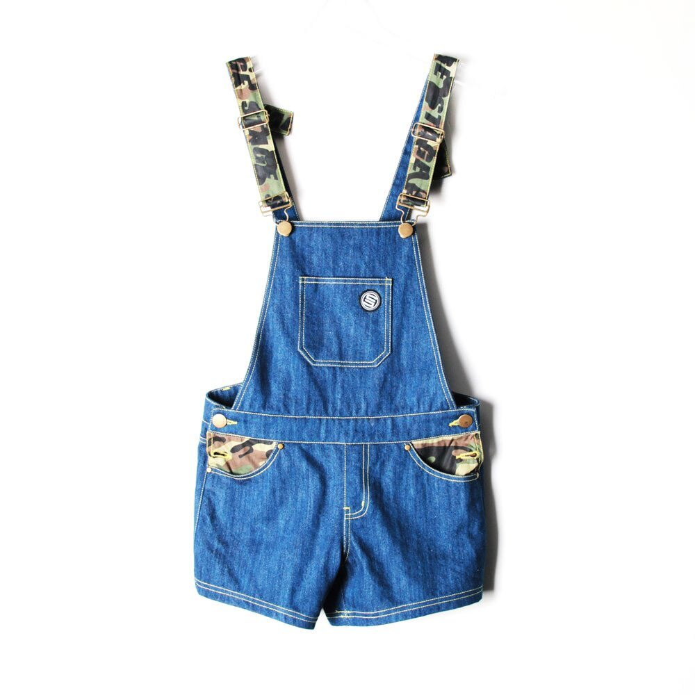 STAGE SHORT OVERALLS 藍色 2