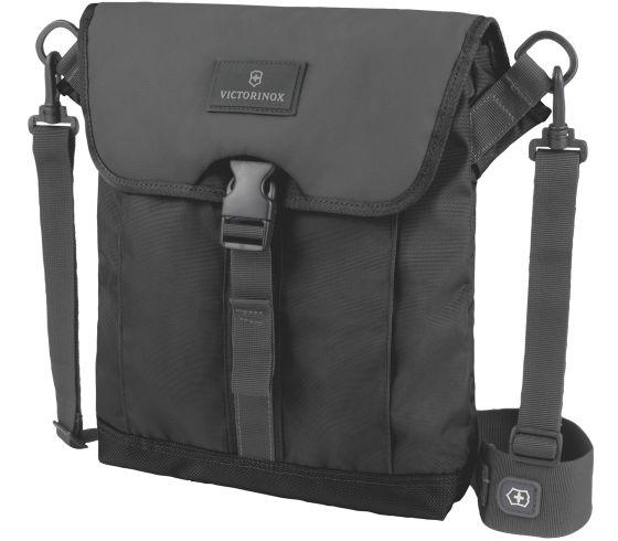 Victorinox 瑞士維氏 Altmont 3.0 揭蓋式平板電腦單肩袋 TRGE-32389201 側背包 黑 / 個