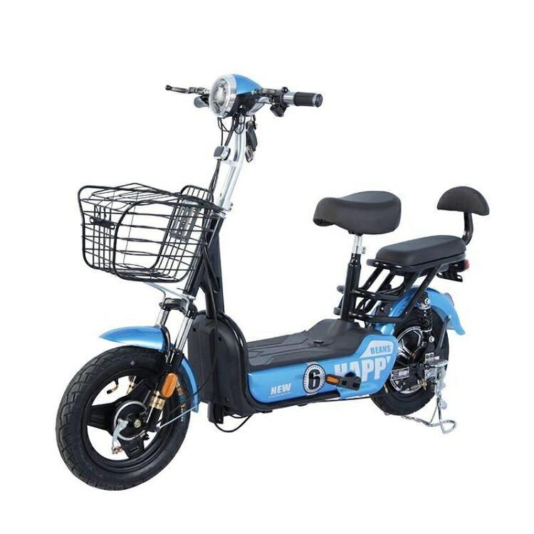 電動車電動車成人兩輪可鋰電池電瓶車電動自行車48v雙人 【新年鉅惠】