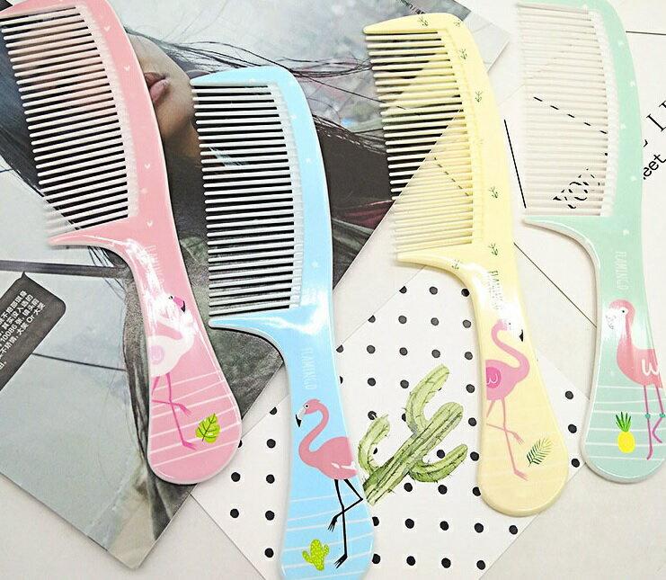PS Mall 家居日用美髮梳 小鳥印花彩色梳子【H343】 4