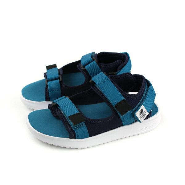 NewBalance涼鞋休閒鞋藍色童KS750NY-Wno422