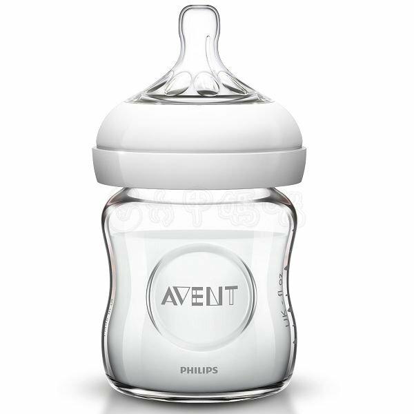 新安怡AVENT親乳感玻璃防脹氣奶瓶120ml  單入【六甲媽咪】