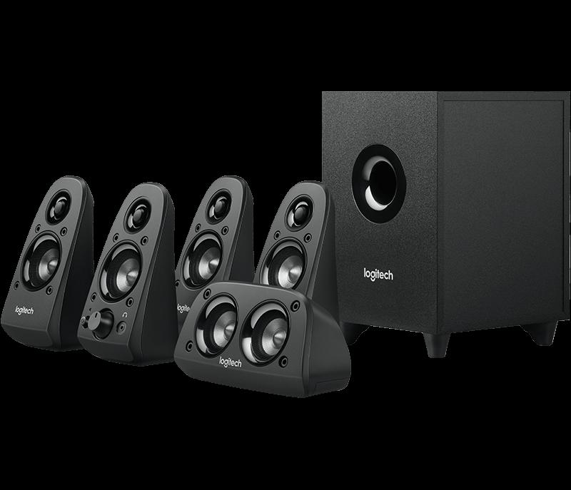 Logitech 羅技 Z506 5.1 環繞音效音箱系統  喇叭 1
