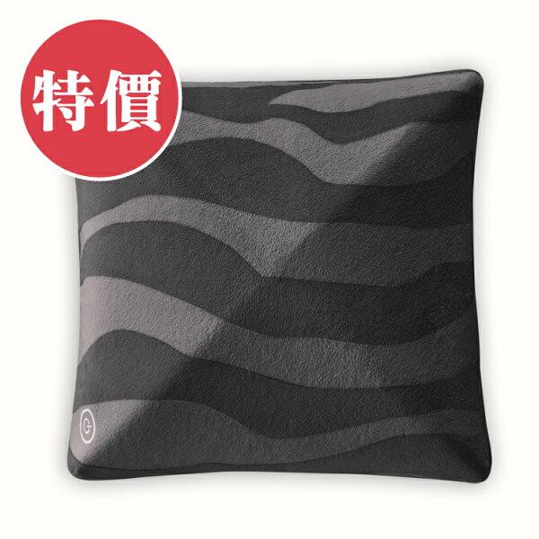 【限時特價】LOURDESAX-HL148zbk日式按摩抱枕(斑馬黑)