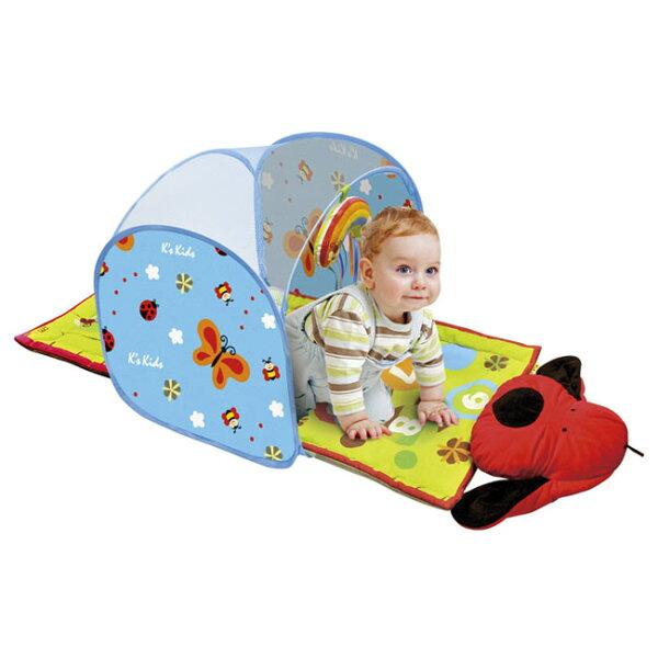 【奇買親子購物網】K'sKids寶寶爬行隧道