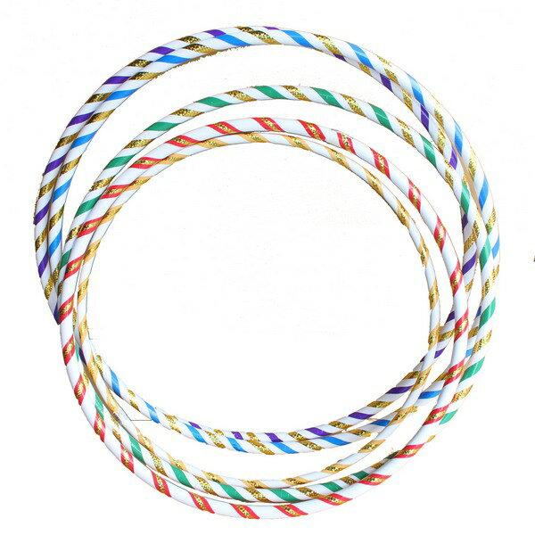 呼啦圈6號雷射晶晶彩虹呼拉圈(小彩帶)一個入{促100}直徑71cm~台灣製造~4710894914579