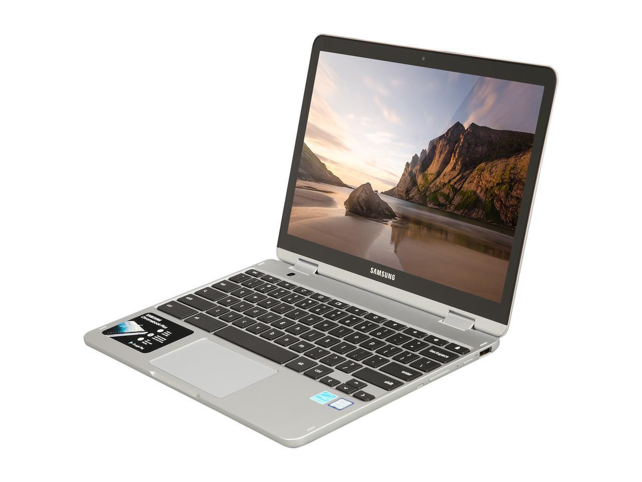 Samsung Chromebook Plus, 2-in-1, Intel Core m3, 4GB RAM, 64GB eMMC, 13MP  Camera, Chrome OS, 12 2