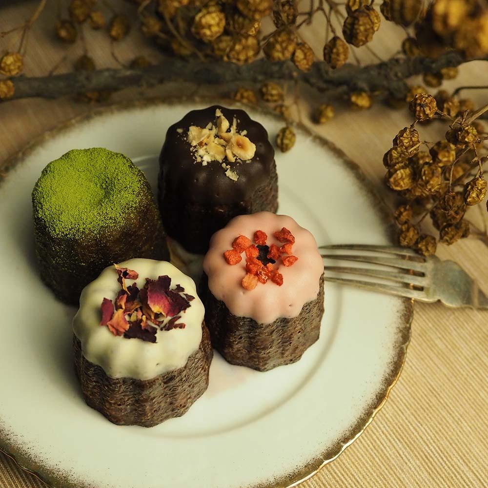 艾樂比 【四入夢幻可麗露】  甜點 法式小點 下午茶點心 可麗露 canele aluvbe