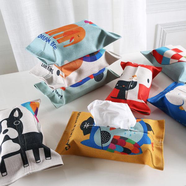 時尚可愛面紙套創意抽取紙巾盒