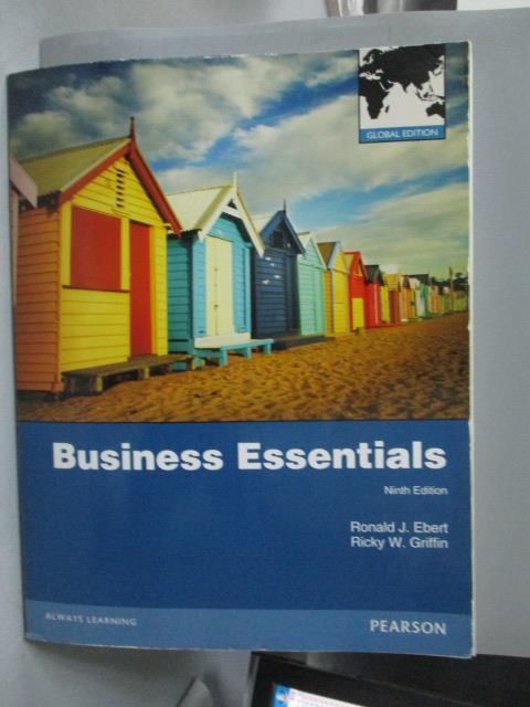 ~書寶 書T5/大學商學_QJF~Business essentials_Ronald J
