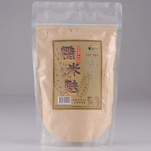 鏡感樂活市集:即期良品清淨生活糙米麩300g包~惜福品~