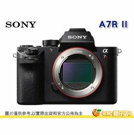送大吹球清潔組+保護貼等好禮 Sony A7R II 單機身 A7RM2 A7R2 A7R II 五軸防手震 4K錄影 台灣索尼公司貨