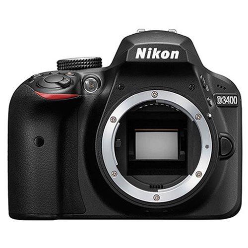 Nikon D3400 24.2MP Full HD 1080p Native ISO 100-25600 Digital SLR Camera with Nikon 18-55mm f/3.5-5.6G VR AF-P Lens 1
