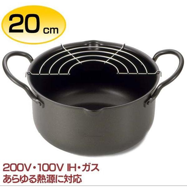 【EPORAS】20cm天婦羅油炸鍋 日本製