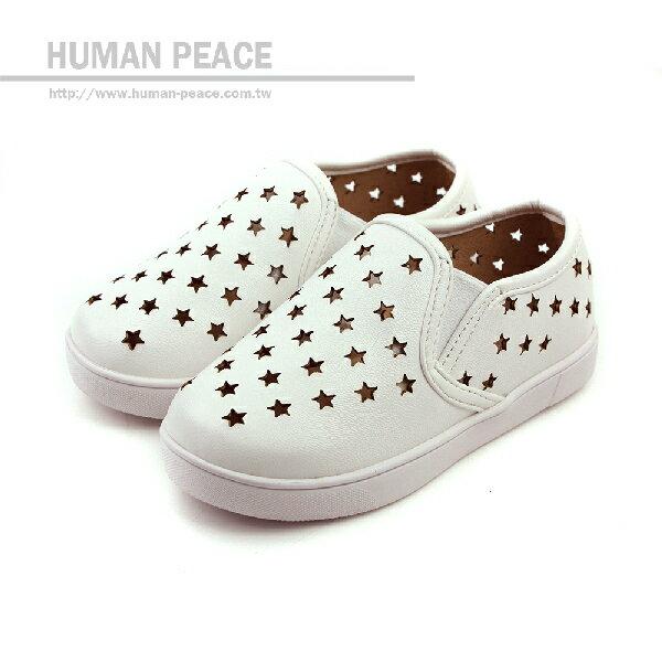 懶人鞋 白 中童 no123