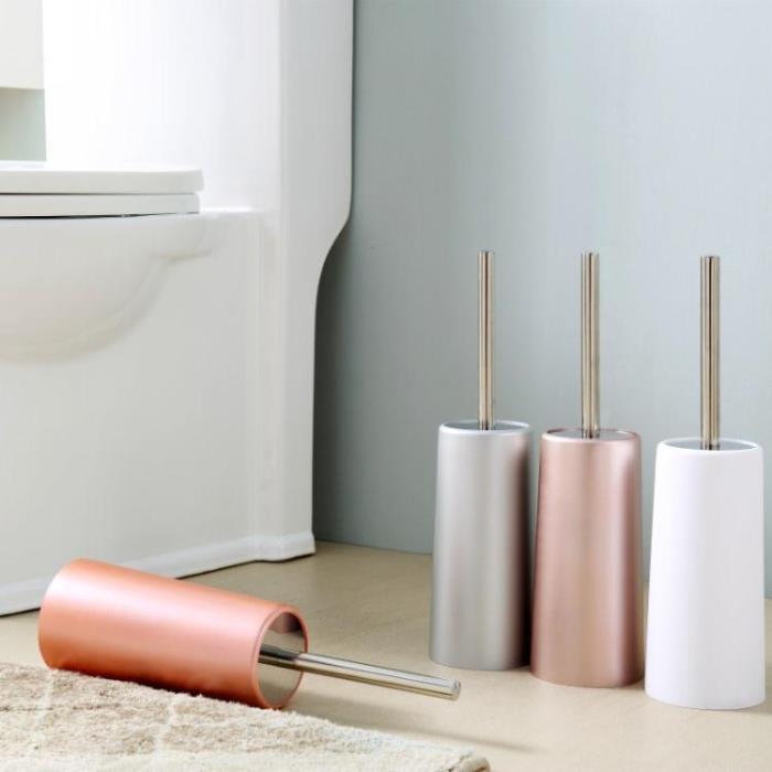 創意衛生間馬桶刷套裝免打孔潔廁洗廁所刷廁所軟毛無死角刷子刷架