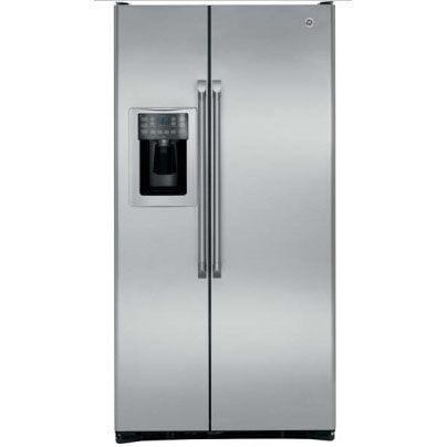【零利率】奇異 GE 702L 不銹鋼薄型對開門冰箱 CZS25TSSS※熱線07-7428010