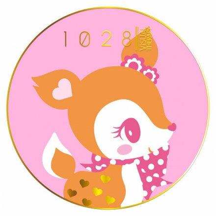 1028 超吸油蜜粉餅 哈妮鹿限定粉 (4.6g) 熱銷! 零油光,不脫妝,透亮妝感!
