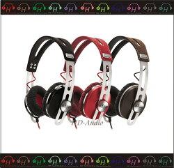 弘達影音多媒體 德國聲海 SENNHEISER MOMENTUM On-Ear 耳罩線控式耳機 紅色 公司貨