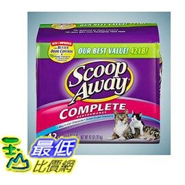 [COSCO代購 如果沒搶到鄭重道歉]  Scoop Away 超凝結貓砂 19公斤 W506958