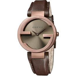Gucci 古吉 全智賢廣告 經典 時尚腕錶 咖啡