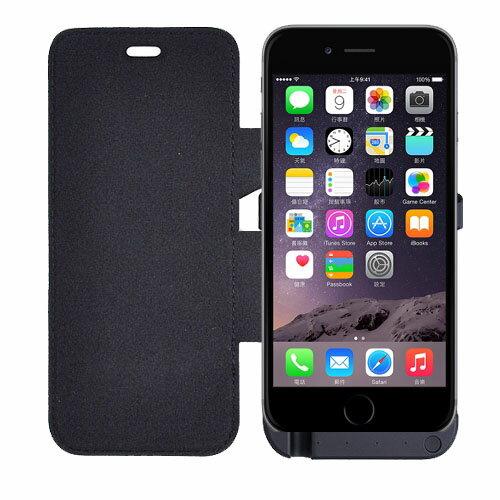 iPhone 6/6S (4.7吋)皮套式超薄背殼式電池/行動電源(3800mA)