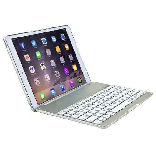 iPad Air 2 專用時尚型超薄鋁合金藍牙鍵盤/筆電盒