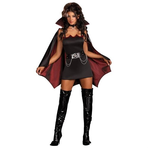 Fang Bangin Fun Vamp Adult Costume 0