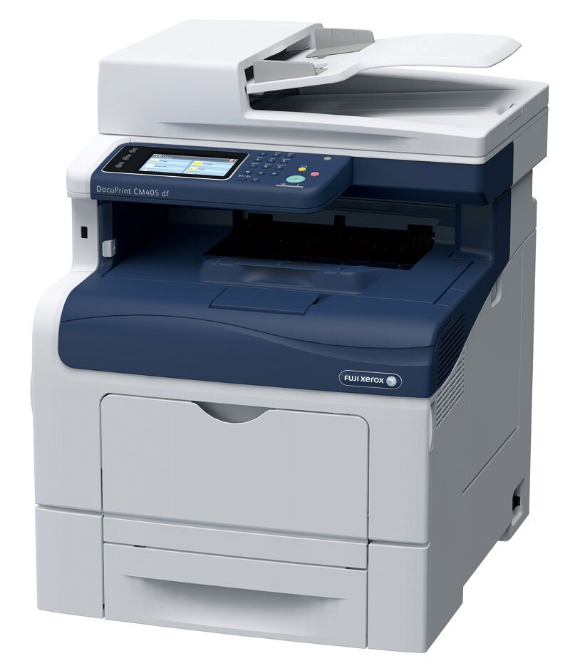 FujiXerox 富士全錄 DocuPrint CM405df A4 彩色多功能複合機 3