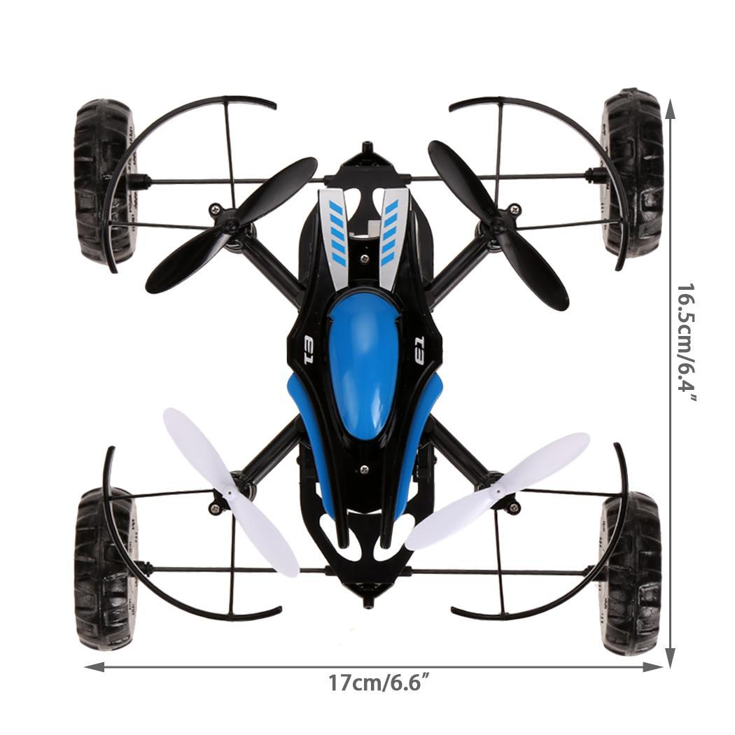 2.4Ghz 4CH 6 Axis Gyro Remote Control Quadcopter Black RC Quadcopter 1