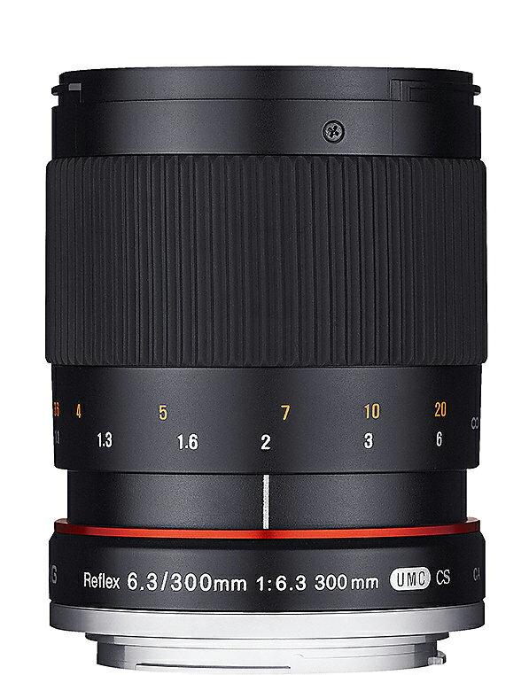 Samyang 鏡頭 : 300mm  F6.3 反射鏡 黑色 for m43 EP1 E
