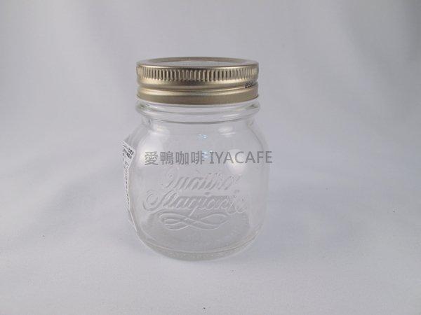 《愛鴨咖啡》Bormioli Rocco 義大利 四季玻璃果醬 密封罐 收納罐 馬口鐵蓋 生豆樣品罐 150ml