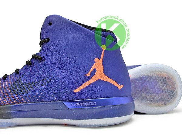 2017 雷霆隊 Russell Westbrook 代言 新生代飛人 限量發售 史上最強 NIKE AIR JORDAN XXX1 31 SUPERNOVA 藍橘 星空 飛人 FLYWEAVE 鞋面 FLIGHTSPEED + 全腳掌 ZOOM 避震科技傳導 籃球鞋 (845037-400) ! 3