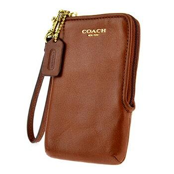 Coach 卡夾手機包 66213 L型拉鍊皮革掛式 《ibeauty愛美麗》