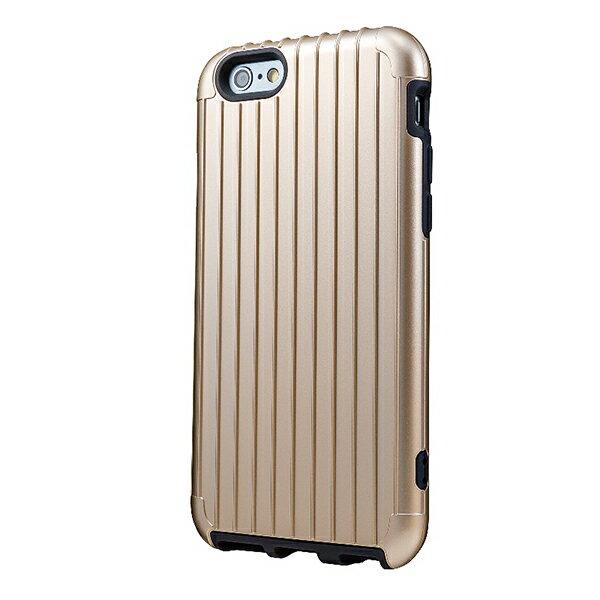 iPhone 5/5S/5C 行李箱手機殼 RIMOWA行李箱激似款 香檳金 耐摔保護殼 登機箱造型 時尚輕巧輕旅行箱《ibeauty愛美麗》