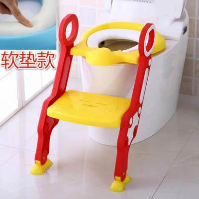 【兒童階梯坐便器-軟墊款-1套/組】寶寶馬桶梯馬桶圈嬰兒座便器加大便盆尿盆-7701001