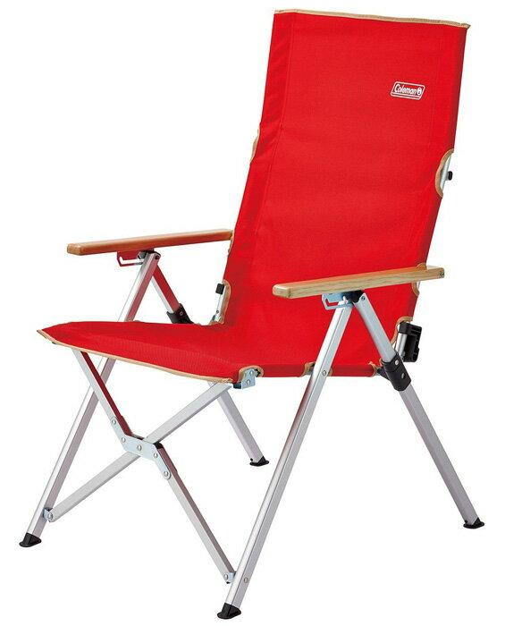 【鄉野情戶外用品店】 Coleman |美國| LAY 躺椅/休閒椅 露營椅 摺疊椅-紅/CM-26744M000